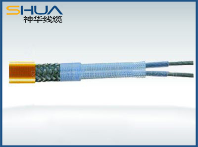 Automatic temperature series heating cable